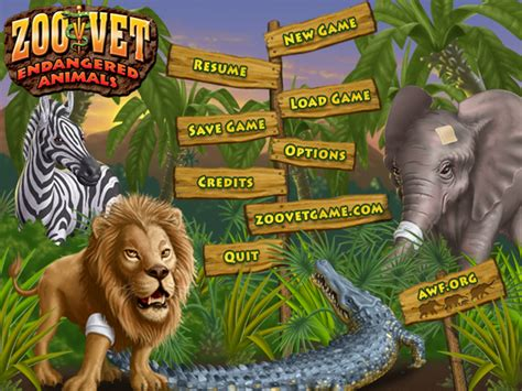Demos: PC: Zoo Vet: Endangered Animals | MegaGames
