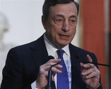Dentro de lo malo, Draghi no es lo peor - Economía - La ...