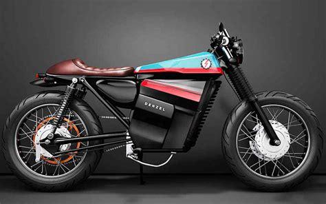 Denzel Cafe Racer, una moto eléctrica diseñada en ...