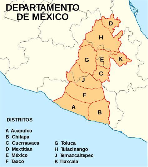 Departamento de México   Wikipedia, la enciclopedia libre