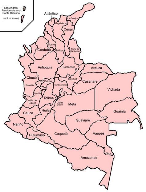 Departamentos de Colombia   Wikipedia, a enciclopedia libre
