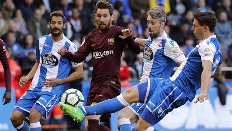 Deportivo - Barcelona hoy, la Liga Santander en directo
