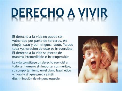 Derecho a la vida yenni perez