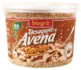 Desayuno Avena Chocolate 220g.