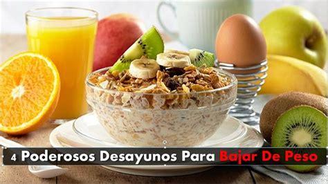 Desayunos para quemar grasa abdominal