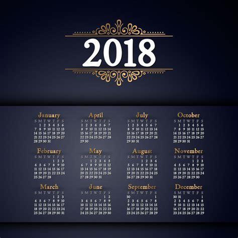 Descarga 10 calendarios 2018 2019 gratis editables para ...