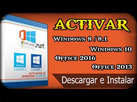 Descarga Activador Windows 10 | Office 2016 | Versione ...