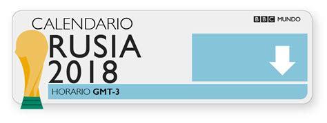 Descarga aquí el calendario de partidos del Mundial de ...
