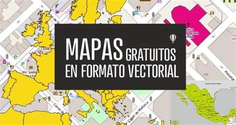 Descarga gratis MAPAS en formato vectorial para CorelDRAW