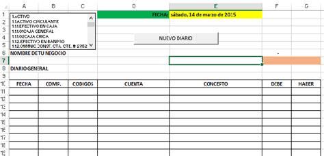 Descarga Gratis Tu Sistema Contable en Excel y contabilidad