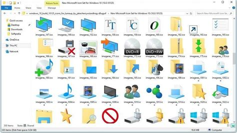 Descarga los iconos de Windows 10 para Windows 7/8