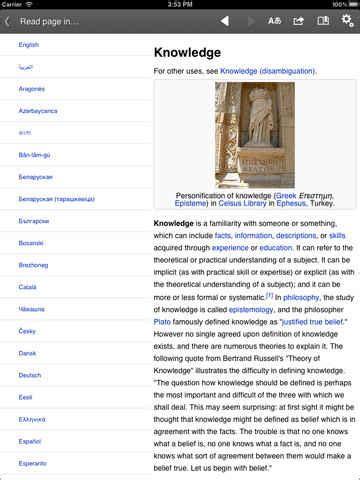 Descarga wikipedia para iphone, ipad gratis - Lo nuevo de hoy