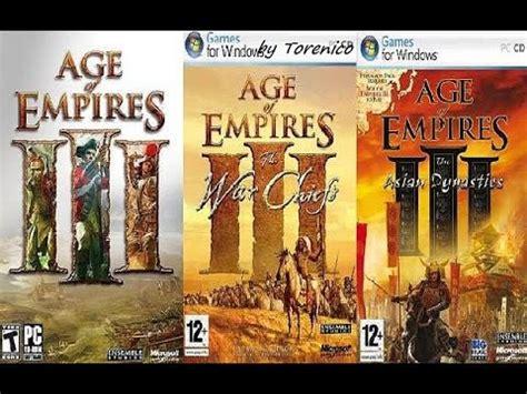 Descargar Age Of Empires 3 En ESPAÑOL con TODAS LAS ...