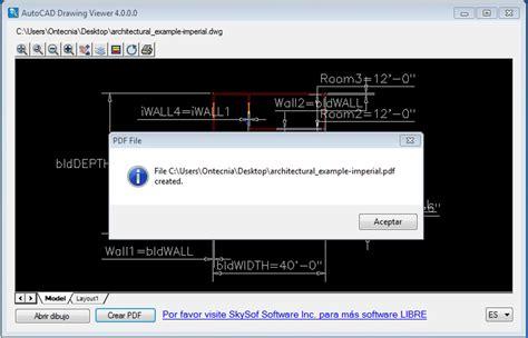 Descargar AutoCAD Drawing Viewer 4.0.0.0   Gratis en Español