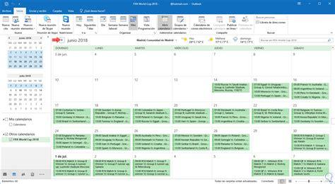 Descargar calendario Copa Mundial Rusia FIFA 2018 en ...