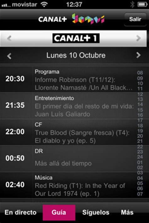Descargar Canal+ Yomvi 3.7.10 iPhone - Gratis en Español