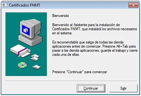 Descargar Certificados FNMT   Gratis en Español