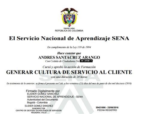 Descargar el certificado digital SENA virtual