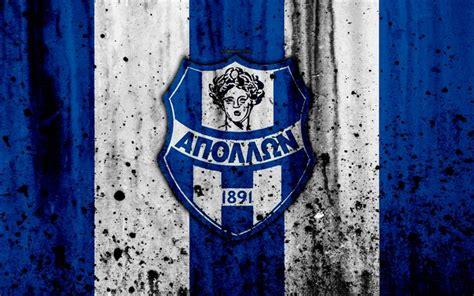 Descargar fondos de pantalla Apollon Smirnis FC, 4K ...