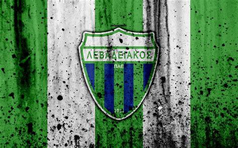 Descargar fondos de pantalla Levadiakos FC, 4K, Grecia ...