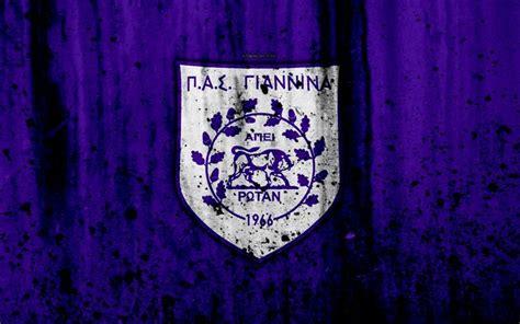Descargar fondos de pantalla PAS Giannina FC, 4k, Grecia ...