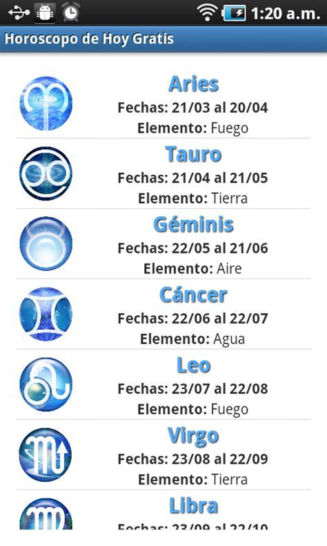 Descargar Gratis Horóscopo de Hoy Gratis, Gratis Horóscopo ...