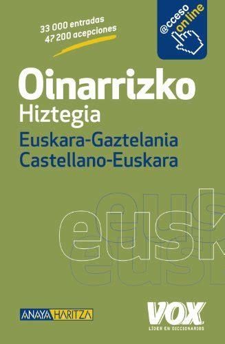 Descargar Libro Oinarrizko. Hiztegia. Euskara-gaztelania ...