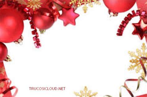 Descargar marcos de navidad para tarjetas   Trucos iCloud
