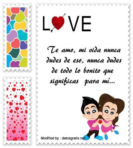 Descargar mensajes de amor para mi novia | Frases de amor ...