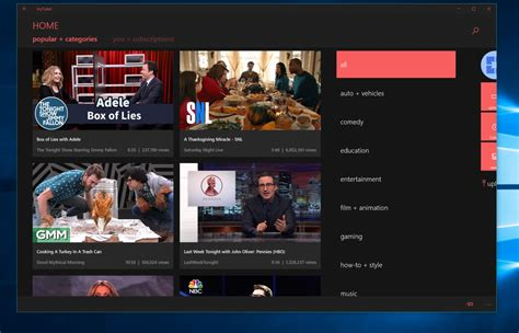 Descargar MyTube gratis para Windows 10 - TodoWindowsPhone