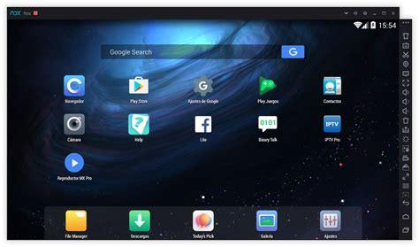 Descargar Nox App Player: Potente emulador android para pc ...