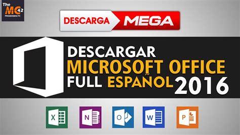 Descargar Office 2016 FULL Español MEGA | 32/64 bits ...