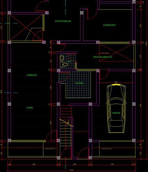 Descargar Planos De Casas En 3d En Autocad | Planos de Casas