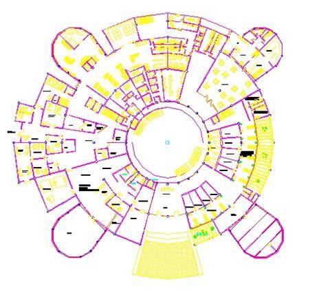 DESCARGAR PLANOS EN AUTOCAD DWG : HOSPITAL EN DWG