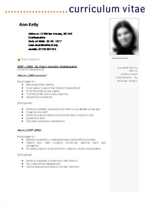 Descargar plantillas CURRICULUMS VITAE en Word. PDF