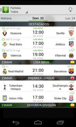 Descargar Resultados de Fútbol gratis para Android