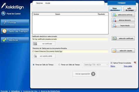 Descargar XolidoSign 2.2.1.17 - Gratis en Español