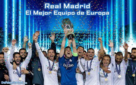 Descárgate el Wallpaper de los Super Campeones de Europa ...