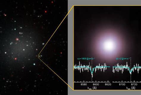 Descubierta la primera galaxia sin materia oscura