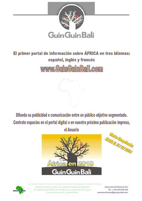 Descubra la web GuinGuinBali de informacion sobre Africa y ...