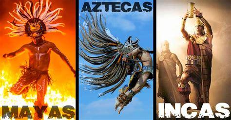 Descubre las diferencias entre mayas, aztecas e incas DE ...