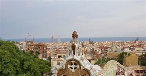 Descubriendo mundo con peques: El Parque Güell de Barcelona