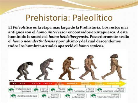 Desde la Prehistoria a la Edad Moderna
