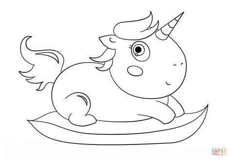Desenho de Bebê Unicórnio Chibi para colorir   Desenhos ...