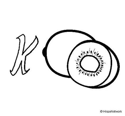 Desenho de Kiwi para Colorir   Colorir.com