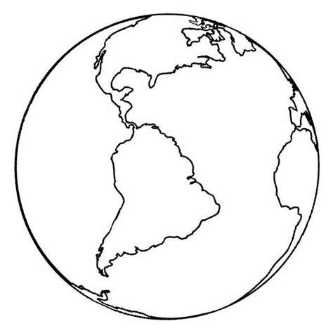 Desenho de Planeta Terra e continente americano para ...