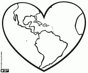 Desenhos de A Terra, nosso planeta para colorir, jogos de ...