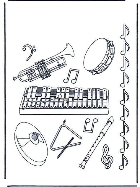 Desenhos de Instrumentos Musicais para Colorir e Imprimir ...