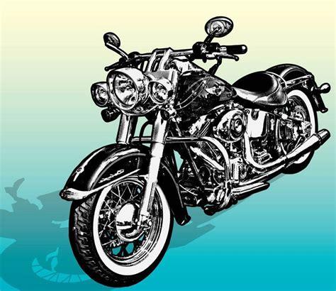 Desenhos infantis de motos. Desenhos de motos