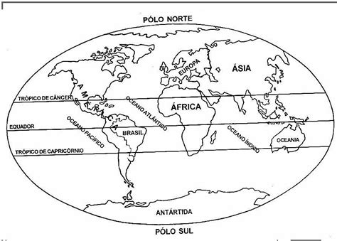 Desenhos para colorir   Mapa mundi para colorir | mapas ...